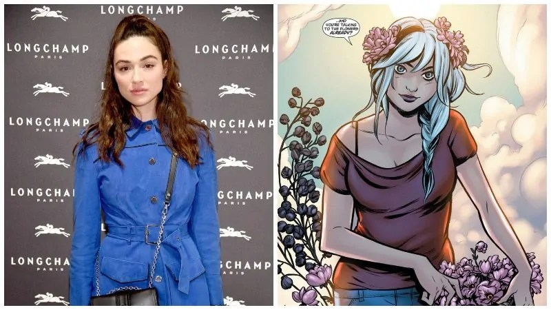 CRYSTAL REED SWAMP THING