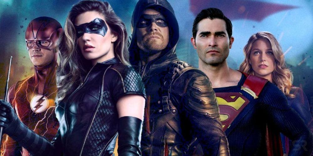 Scambio di costumi nel poster di Elseworlds, il crossover dell'Arrowverse