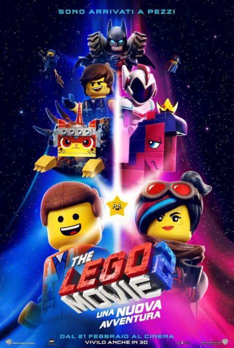 Poster, banner e nuovo trailer italiano per The LEGO Movie 2
