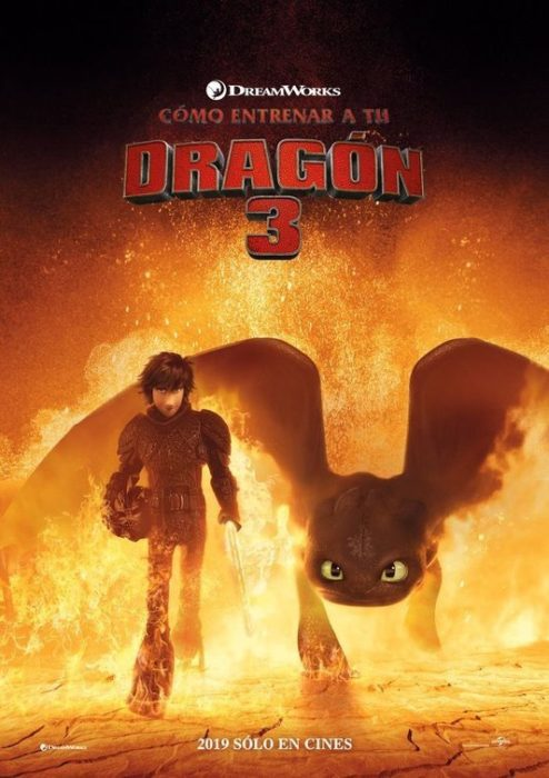 dragon trainer 3 poster