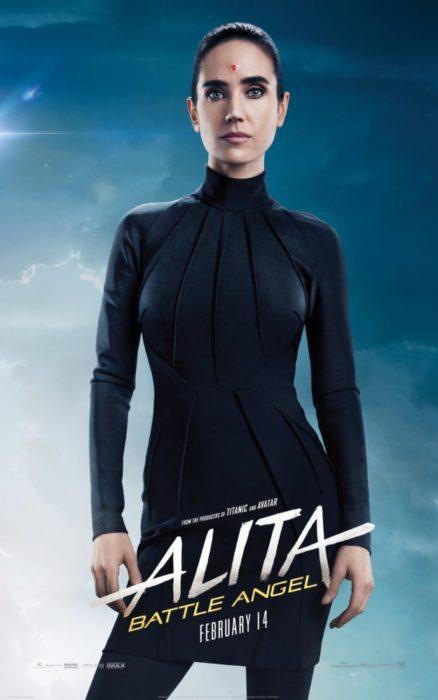 Umani e Cyborg nei 10 characters poster di Alita: Angelo della Battaglia