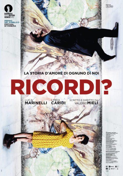 Il poster di Ricordi?, il film di Valerio Mieli con Luca Marinelli