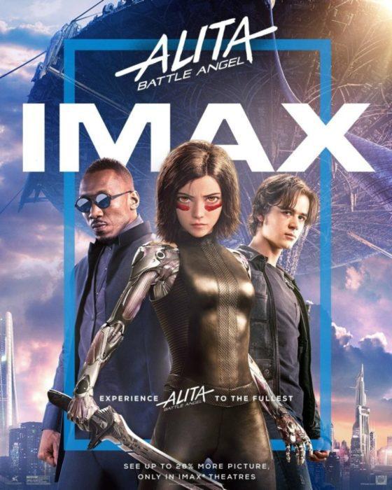 alita imax poster