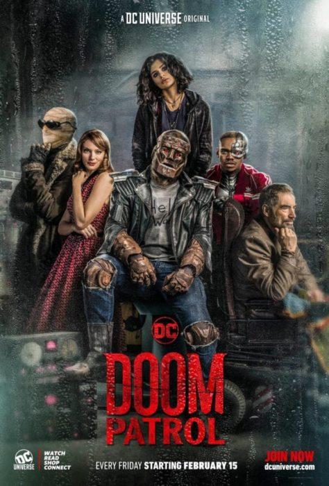 Fenomeni da baraccone nel nuovo poster di Doom Patrol