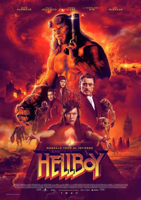 Hellboy poster imax