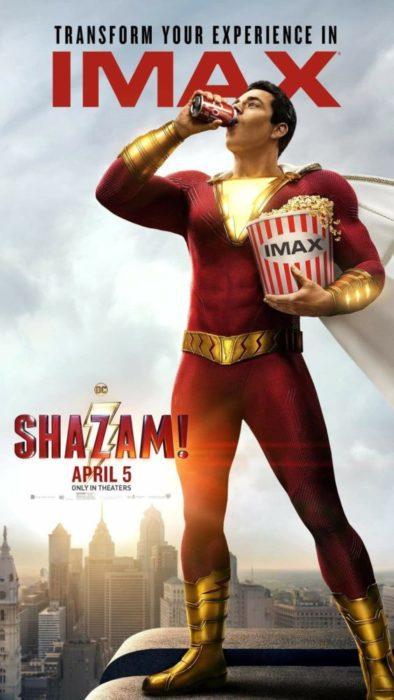 shazam poster imax