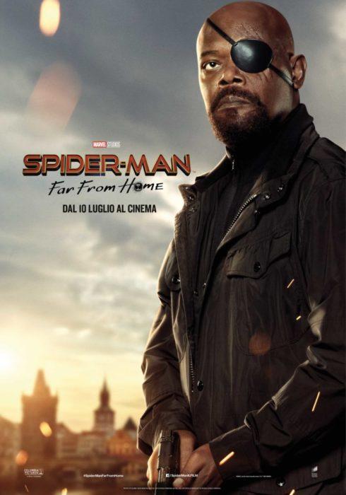 Tutti i characters poster italiani di Spider-Man: Far From Home