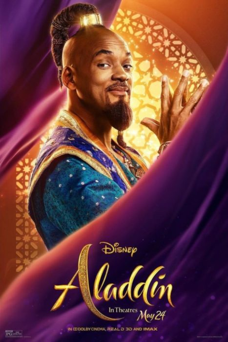 Aladdin Will Smith Poster