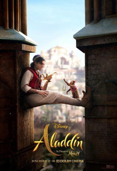 Due nuovi poster internazionali da Aladdin, il live action Disney