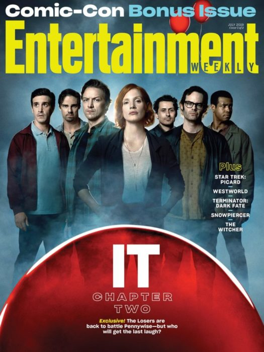 [IT: Capitolo Due] Pennywise e i Perdenti sulla cover di Entertainment Weekly