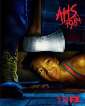 American Horror Story 1984 poster slasher