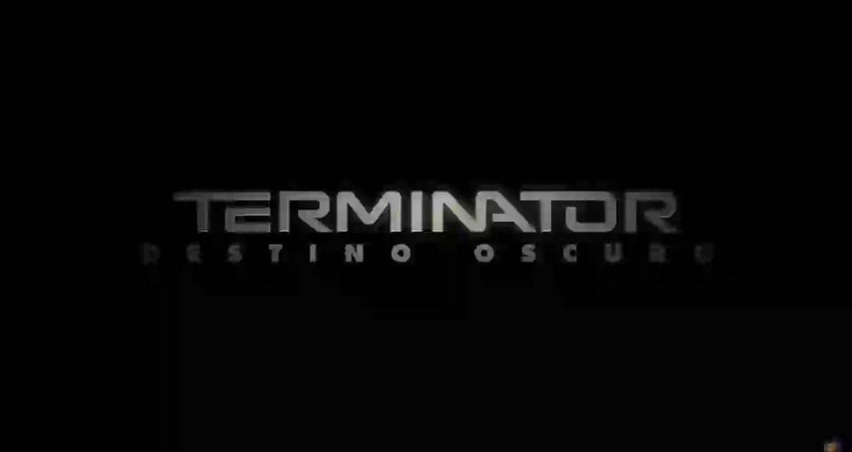 Terminator Destino Oscuro Film Logo