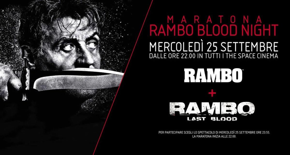 Maratona Rambo Blood Night