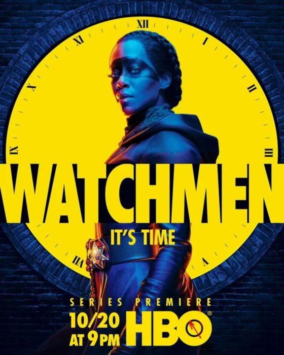 Watchmen Serie Tv Poster