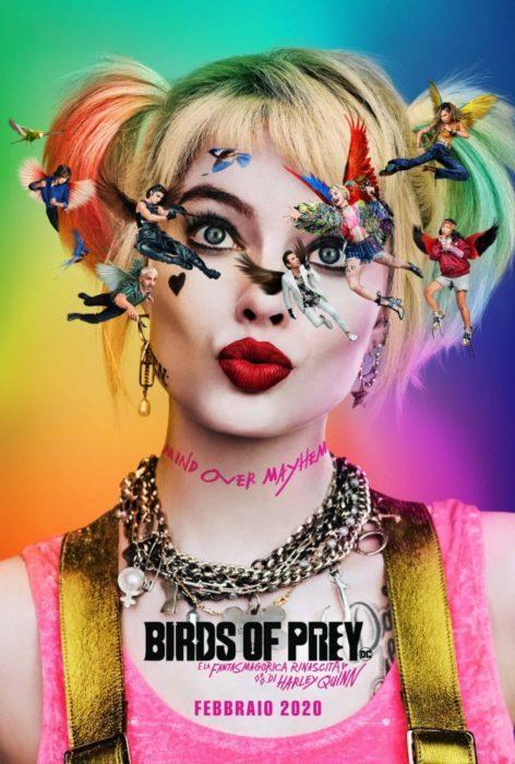 Birds of Prey poster ita