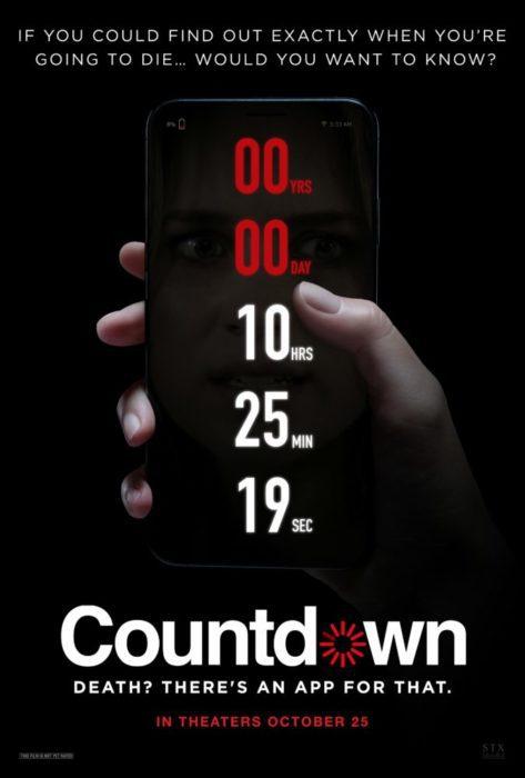 Countdown film horror poster