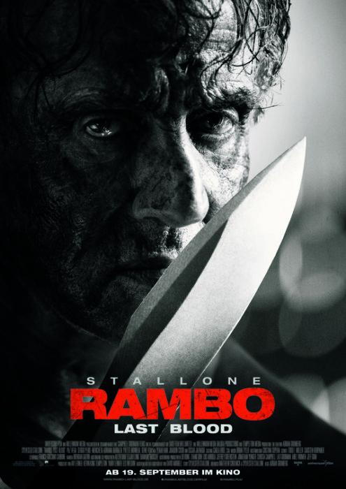 Due nuovi poster internazionali per Rambo: Last Blood