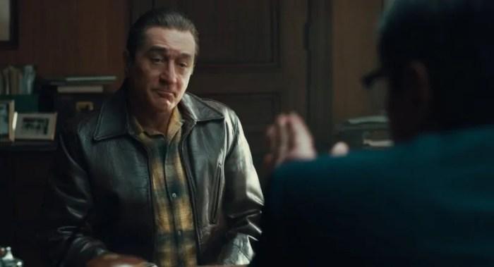 Il ringiovanimento di Robert De Niro nelle nuove foto di The Irishman