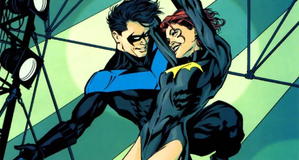 nightwing e batgirl