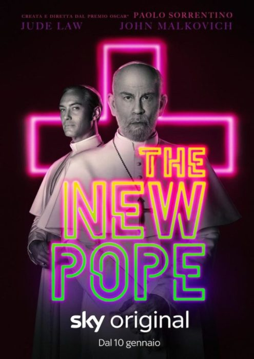 the new pope poster italia