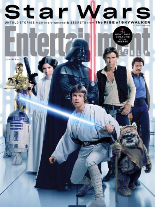 Star Wars: Tre special cover da EW in vista di L'ascesa di Skywalker