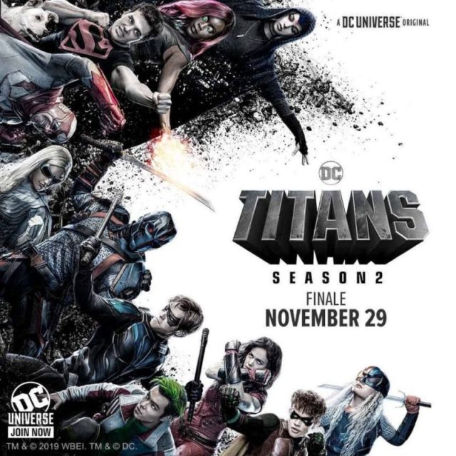 Titans 2 Poster Nightwing