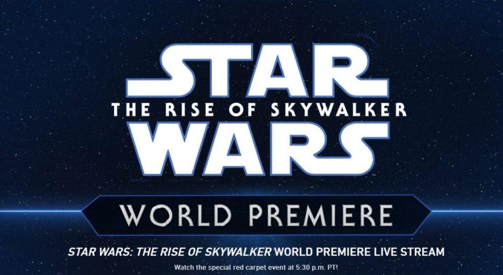 Star Wars L'ascesa di Skywalker World Premieer
