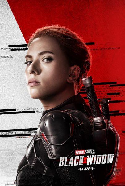 I protagonisti di Black Widow nei 4 characters poster