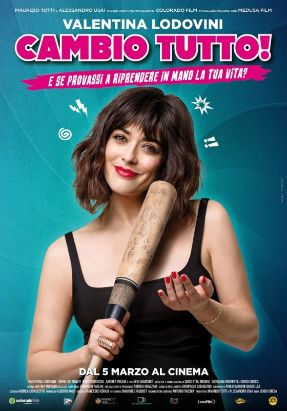 Cambio Tutto - Film Poster