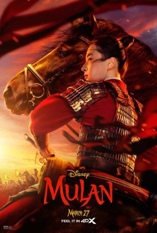 Ancora due nuovi poster dal live-action Mulan