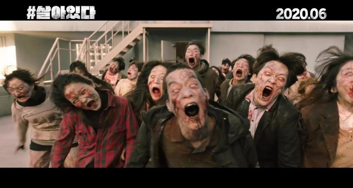 #Alive Zombie Movie