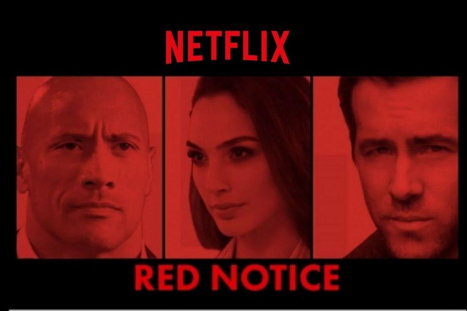Red Notice - Film Netflix