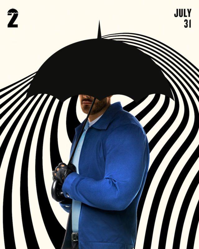 La famiglia Hargreeves nei poster di The Umbrella Academy 2
