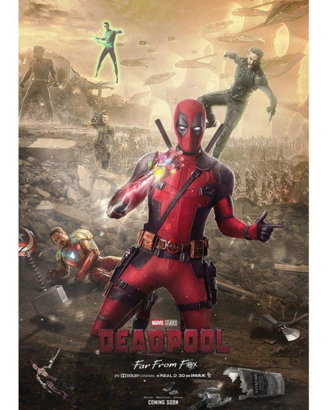 Deadpool Fan Poster