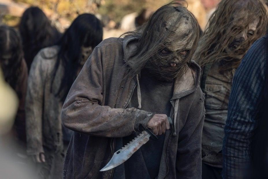 The Walking Dead: Tante foto dal finale della decina stagione