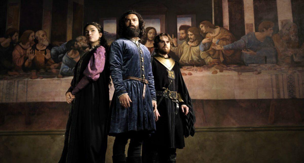 Leonardo serie tv in libreria