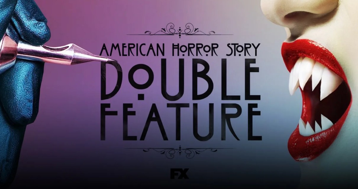 american horror story double feature poster trailer