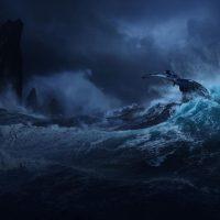 Maltempo da paura su Pandora nel nuovo concept di Avatar 2