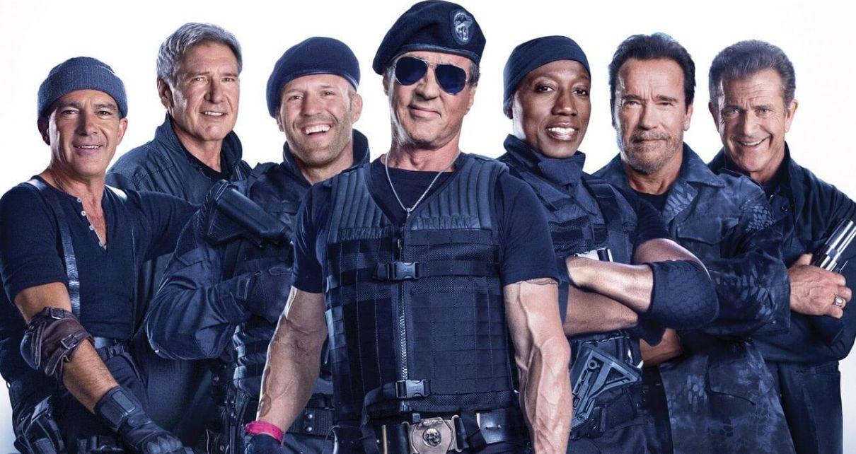 i mercenari nuovo film cast