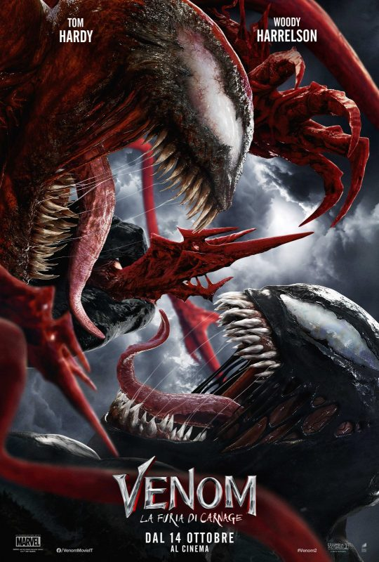 Due nuovi poster di Venom: La Furia di Carnage confermano la nuova data di uscita