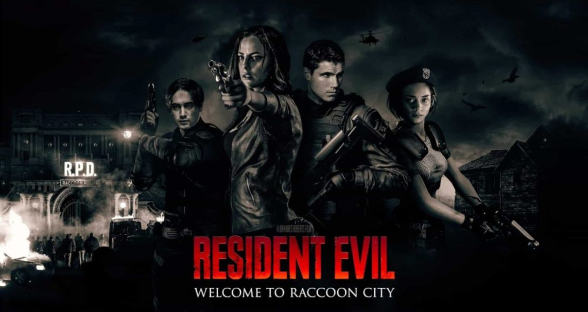 resident evil welcome to raccoon city film poster