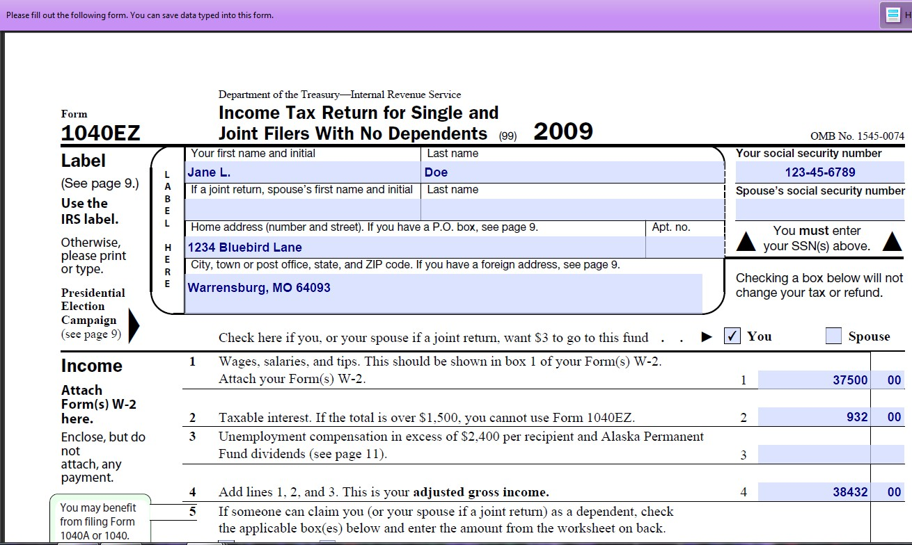 Irs Form R Instructions