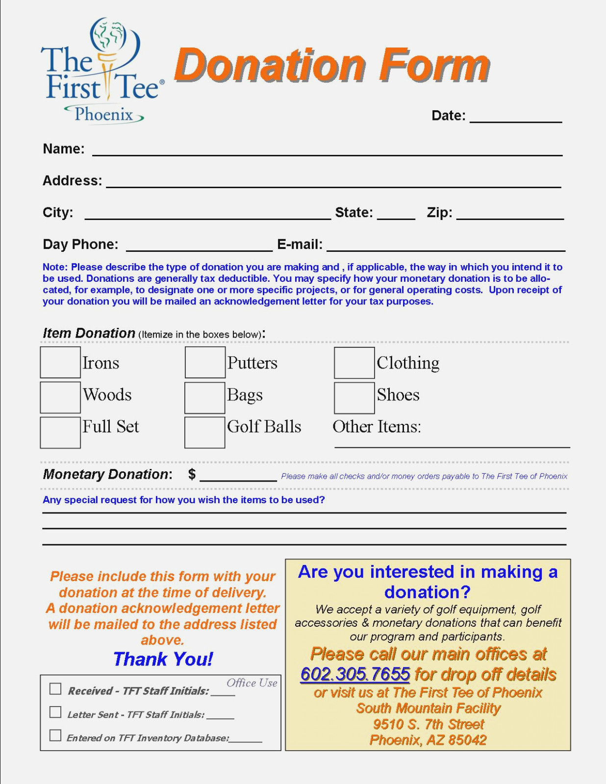Goodwill Charitable Donations Worksheet