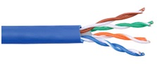Cat6 UTP Ethernet Cable showing pairs of cables