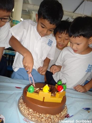 Happy Birthday in primary school singapore