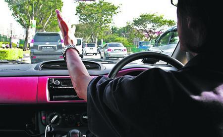 Singapore Traffic Police Problems