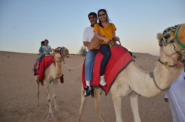 Travelling With Kids: Dubai — Desert Safari