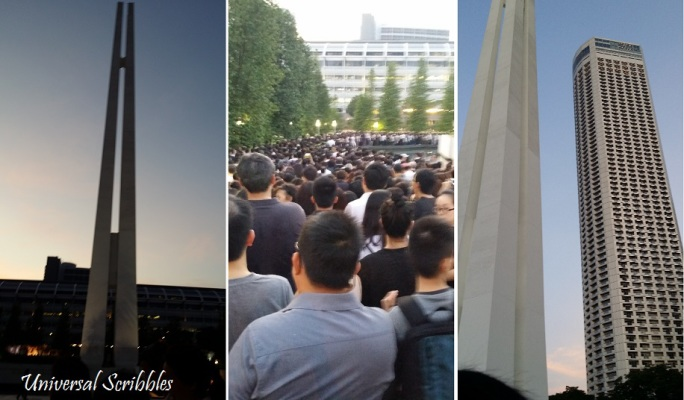 Grieving For Lee Kuan Yew — Paying Our Respect At Parliament House