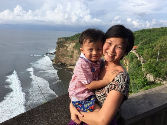 Mei Chee and Son