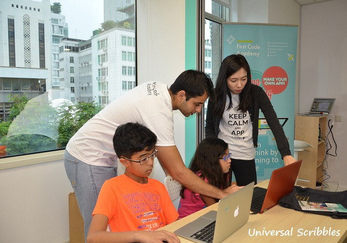 Shaping Future Creators – A Coding Workshop for Kids